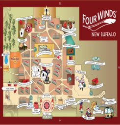 Four Winds Property Map